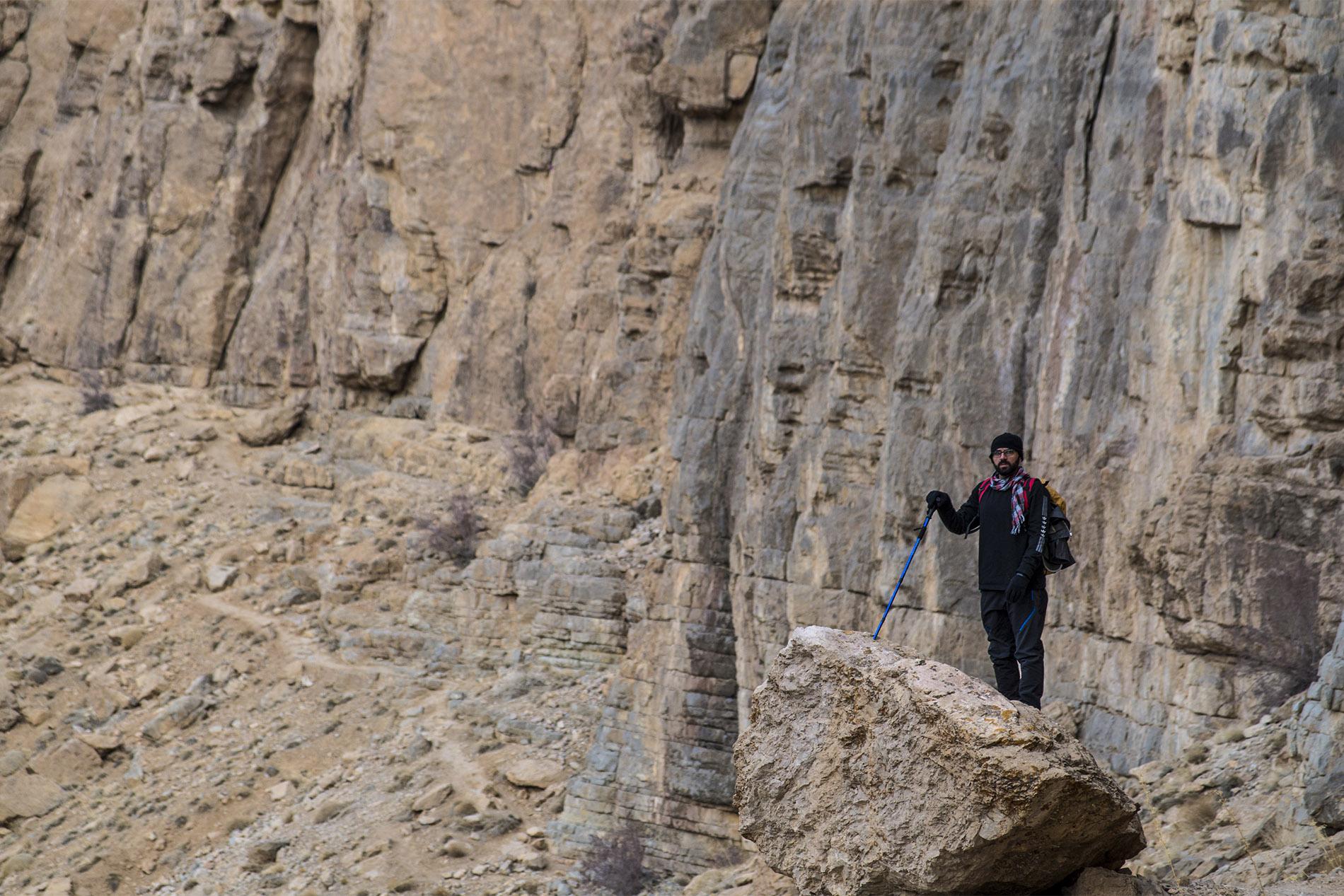 Ballade accompagnés par Reza, un montagnard de Téhéran