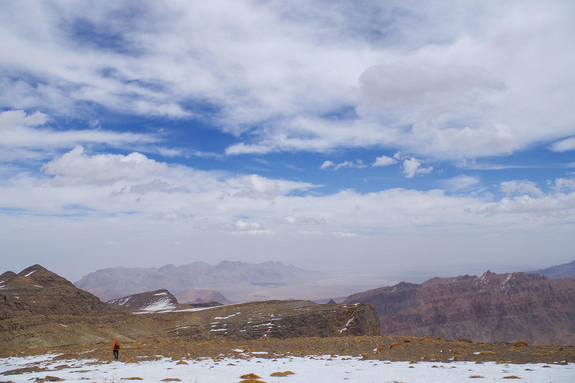 Les plateaux à presque 4000 au dessus de Yazd